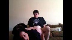 Amateur Chubby Couple Destroys Doggy Style Part 1