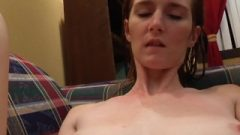 Young Teen With Massive Boobs Moans As She Gets It From Behind