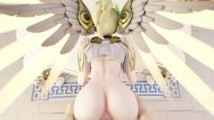Mercy Anal Ruined In The Asshole From Behind