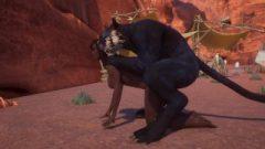 Jadeen Black – VS – Chakkar Big Black Dick Furry Doggystyle – Wild Life – Sex Game