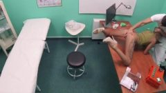 Fake Hospital Innocent Blonde Russian Eats Docs Jizz After Doggystyle Banging