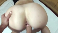 Enormous Booty Honey Banging Doggystyle And Big Cum Shot