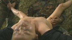Beefy Japanese Army Fuck