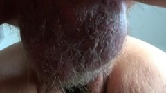 We Make Each Other Spunk Fast, Close Up Hairy Cunt Creampie